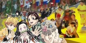 Tokio 2020: Demon Slayer se roba la ceremonia de clausura