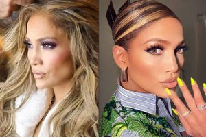 Jennifer Lopez tiene el peinado perfecto para adelgazar el rostro y es muy sencillo de hacer