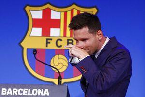 """Messi se despide llorando del Barcelona: """"No estaba preparado para marcharme..."""""""