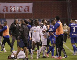 """Diego Castro de Liga de Quito: """"Entre Sosa y Dixon Arroyo atacan de manera cobarde a Jordy Alcívar"""""""