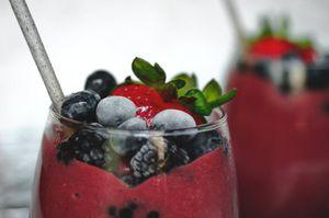 Smoothie de vino: Esta es su receta y los beneficios para la salud