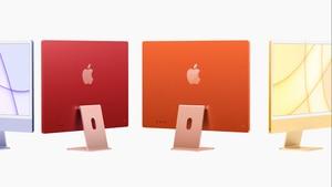 iMac 2021: Apple nos vuela la cabeza con muchos colores y procesador M1