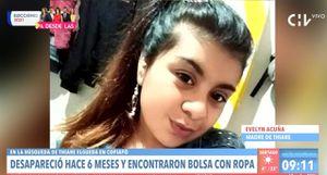 """Madre de Thiare Elgueda cree que pusieron la ropa de su hija en un sector ya periciado """"para despistar el foco de la investigación"""""""