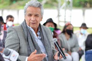 """Presidente Moreno: """"Comparativamente hablando tenemos menos fallecimientos que Estados Unidos, México, Colombia"""""""