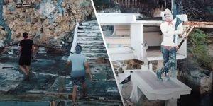Así es la casa abandonada de Cantinflas en Acapulco: Jóvenes publicaron imágenes del lugar