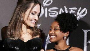 Angelina Jolie describió la personalidad de su hija Zahara