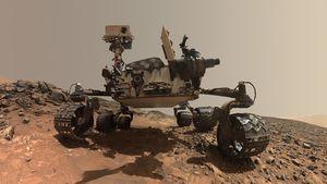 El rover Curiosity registra con sus instrumentos que el paisaje de Marte cambia a medida que avanza el tiempo