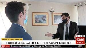 PDI suspendido por homicidio de Valeria Vivanco descarta pacto de silencio e insiste en que no le disparó