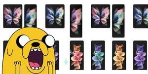 Samsung Galaxy Z Fold 3 y Z Flip 3: descarga sus wallpapers