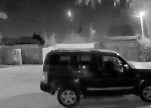 Vídeo registra impressionante queda de meteoro que assustou moradores; assista
