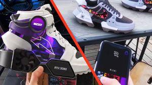 NVIDIA: fans crean zapatillas con pantallas personalizables y tarjetas gráficas