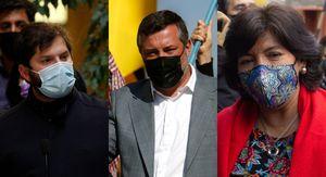 Cadem: Gabriel Boric lidera preferencias y supera a Sebastián Sichel y Yasna Provoste