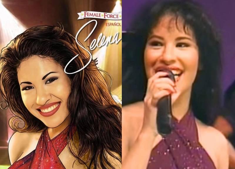 Así luce Selena Quintanilla en su nuevo cómic y esto es lo que se sabe de su lanzamiento