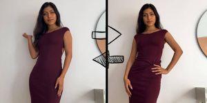 Transforma un vestido liso en menos de un minuto con este truco de TikTok