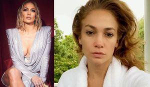Jennifer Lopez baila en pijama y sin maquillaje y muestra el poder de la belleza natural a los 51