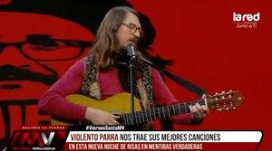 "Daniela Vega no le perdonó presentación a ""Violento Parra"": ""Tu rutina está de más. Peor. Está de menos"""