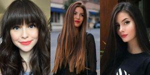 Cortes de cabello largo que más favorecen a las mujeres de cara redonda y cachetona