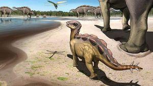 Encuentran una huella de dinosaurio de hace más de 100 millones de años y los científicos se sorprenden por su tamaño
