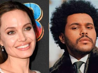 Angelina Jolie y The Weeknd continúan su romance: cenaron en un restaurante de Los Angeles
