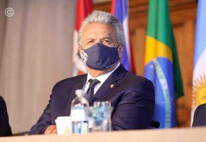 """Presidente Moreno: """"Maduro, saque sus cochinas y sangrientas manos del pueblo de Colombia"""""""