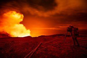 La erupción del volcán Kilauea dejó estas asombrosas imágenes