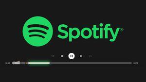 Spotify: así puedes cambiar la barra de reproducción por sables de luz de Star Wars