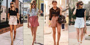 Moda 2020: Estiliza tu figura y disimula los rollitos con los paperbag shorts en el otoño