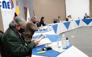 CNE: Siete binomios presidenciales están calificados en firme para las elecciones 2021