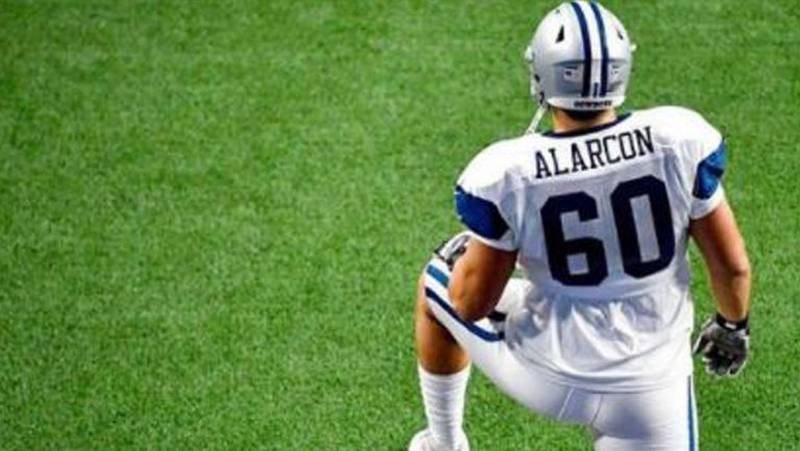 NFL Isaac Alarcón