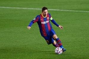 Barcelona borra a Lionel Messi de página web