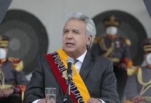 Presidente Moreno lanza contundente respuesta a Alberto Fernández, mandatario de Argentina