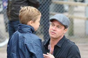 Brad Pitt está feliz porque celebrará el cumpleaños de Shiloh en su mansión