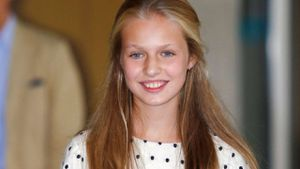 La princesa Leonor copia la moda 'polka dots' de Letizia