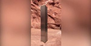 Un monolito de metal fue encontrado en medio de un desierto en Utah y nadie sabe como explicar de que se trata