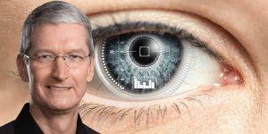 Apple lanzaría lentes de contacto AR inteligentes