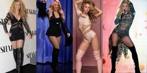 Shakira en looks con maxi botas prueba que se puede lucir elegante y sexy después de los 40