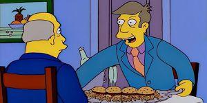Los Simpson inmortalizan su propio meme de las hamburguejas al vapor y lo vuelven canon