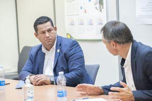 Diego Sinhue Rodríguez Vallejo confirma inversión de la empresa Le Bélier por más de 100 mdd