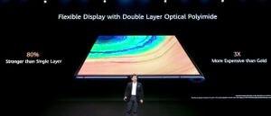 Huawei presenta su nuevo celular plegable Mate Xs, con pantalla de 8 pulgadas