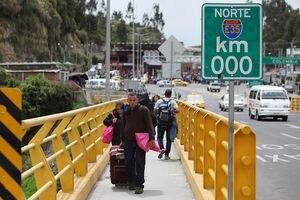 ¿Se mantendrá cerrada la frontera con Colombia tras fin del estado de excepción?