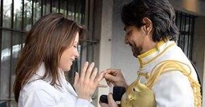 Alessandra Rosaldo recuerda en fotos la romántica propuesta de matrimonio de Eugenio Derbez