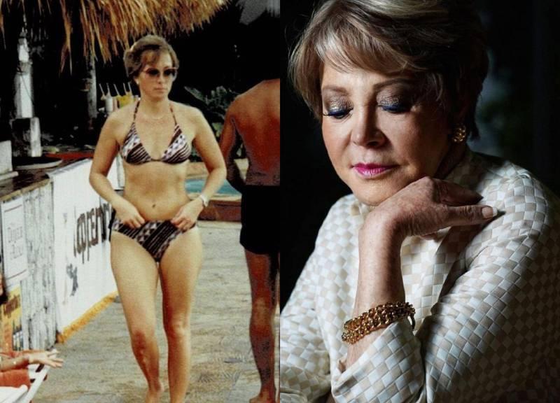 Lolita Ayala y las famosas que han sorprendido con las fotos de su juventud