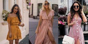 Colores de vestidos que las morenas deben llevar este verano para resaltar su piel